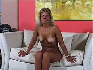 Porno Video of Mature Tanlines Blowjob