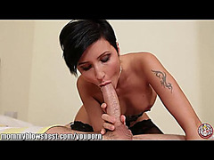 YouPorn menacing-threatening MommyBB Breasty German mother I'd like to fuck Maid is engulfing the hotel client