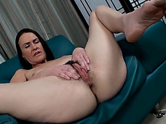 Darksome pubic hair is throat watering on a mother i'd like to fuck