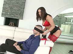 Breathtaking hottie Nikki Waine fucked bad in her soaking snatch