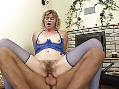 Curly Golden-Haired Mother I'd Like To Fuck