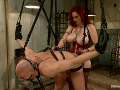 Mz Berlin Face Sitting And Ding-Dong Fucking Boy In Extraordinary Slavery Session