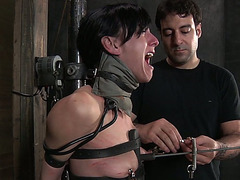 This enthralling BDSM sex movie scene is worth your attention