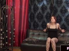 Perverted underware trans queen Jessika Starz solo