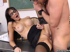 Professor Diana Prince is delighting her internal wants by giving Dane Cross a wild oral-sex session