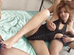 Superb porn experience along curvy wazoo Akane Hotaru