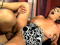 Lupita from lustygrandmas has office sex with a dude HD Porn Movie Scenes