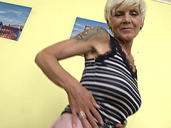 Aged Irenka S fearsome threatening(57)