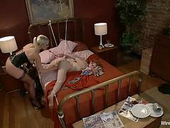 lesbo maid's turn