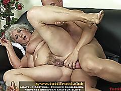 Slutty euro granny porn casting