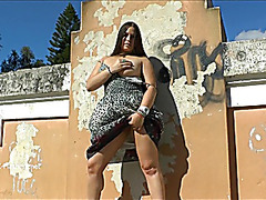 Milas wild public flashing and non-professional latinas outdoor exhib