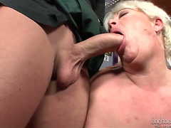 DORA SUCKS A YOUTHFUL BOYFREND'S KNOB REAL VALUABLE