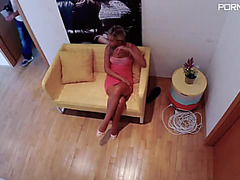 Vinna Reed Golden-Haired sweetheart posing out of pants pdmmna 16 02 22 vinna reed