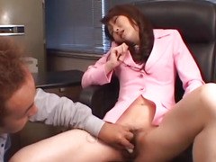 Fascinating chavette Maria Fujisawa groans as that babe acquires her cum-hole gangbanged