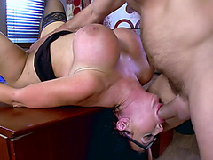 Office mother i'd like to fuck tries the fresh chap in a series of hardcore sex scenes