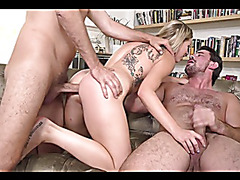 Z.M Anal double penetration Gaping Slut