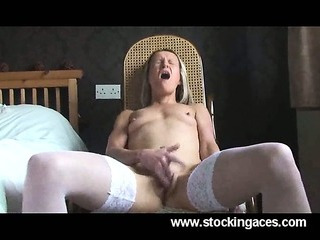 Porn Tube of Sexy Young Blonde Milf