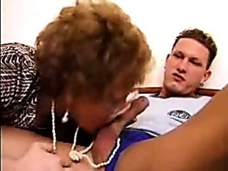 Porn Tube of Grandma Caught Her Lover While Wanking