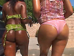 girl dior &fearsome donna red juicy &menacing wet a-hole three-some