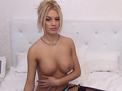 Golden-Haired in darksome nylons Jeaninnex,fearsome fondles her cum-hole / Webcamvideo menacing-menacing free clip from popular adult cam