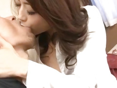 Maki Hojo can't live without having her taut vag pumped hard