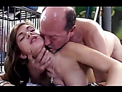 Beauty needs sex with the old stud