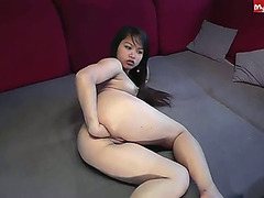 filipina anal fisting herself