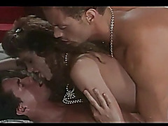 Classic Scene with Peter North &threatening Rocco