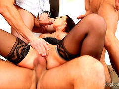 Cindy Dollar 4 on 1 Gang Gangbang HD Porn Vids
