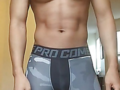 Oriental hawt body menacing(butt cum)