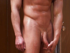 Arse toying muscly hunks