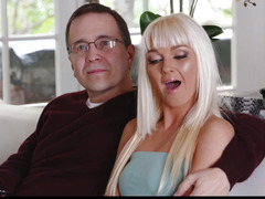 FamilyStrokes threatening-menacing Hawt Step-Mommy Drilled After Workout