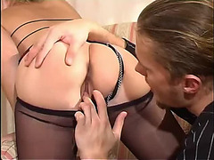 anal sex with maid in hose