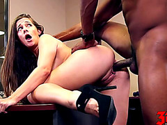 Cassidy Klein fearsome-menacing My Darksome Boss threatening-menacing Scene three HD Porn Movies