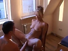 Perverted blond mother i'd like to fuck can't live without pissing and fisting menacing-fearsome way-out porn at ThisVid tube