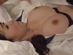 Spicy Yui Satonaka receives pecker in every of her holes