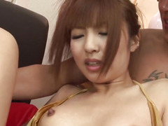 Hot group act in hardcore for youthful Kotone Aisaki