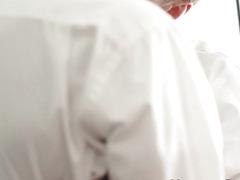 Muslcy mormon barebacked
