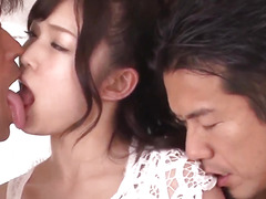 Fleshly group porn along undressed wife Megumi Shino