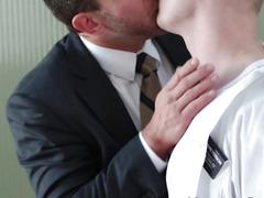 Mormon hunk acquires sucked