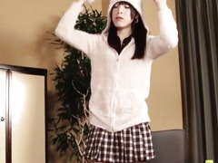 Dilettante newhalf t-girl doggystyled after bj