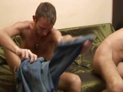 Excited homo dudes with constricted anal gap do hardcore barebacking