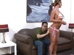 Breasty tgirl copulates gazoo