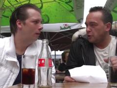 Real Amsterdam hooker wang slaps tourist