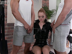 Boys And Gals With Full Bladders Pissing And Fucking Hardcore