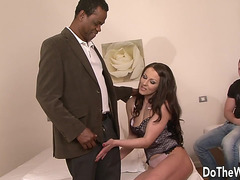 Slutty Wife Receives Anal By Darksome Lad