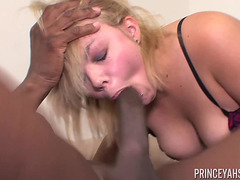Lucy Blaze is choosing a dark 10-Pounder to have moist pleasure fearsome-fearsome PornDoe