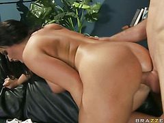 Breasty sweetheart Emma Heart likes getting screwed priceless and hard from her bahind