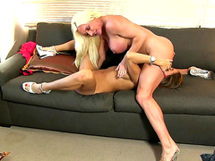 Muscle And Clitness 2 Breasty Whores Go Lesbo HD Porn Clips
