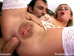 Vídeos porno HD de Russianslikeitbig Hawt Blond Acquire Her Butt Screwed Anastasia M